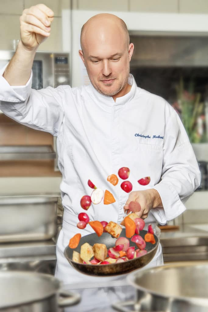 Chef Christophe Hubert