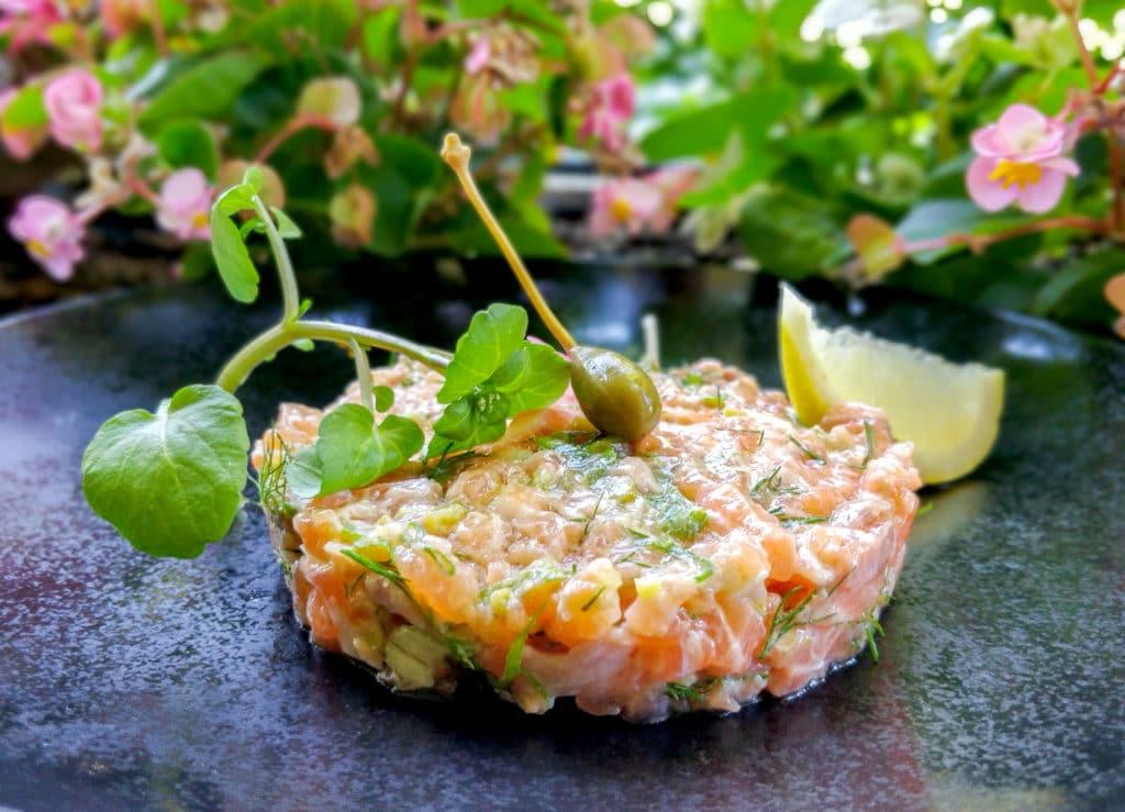 Tartare de saumon d'Ecosse