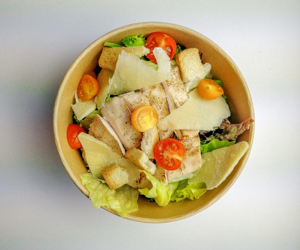 Salade césar en click and collect à Genève